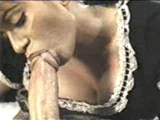 Оральный ретро секс со служанкой